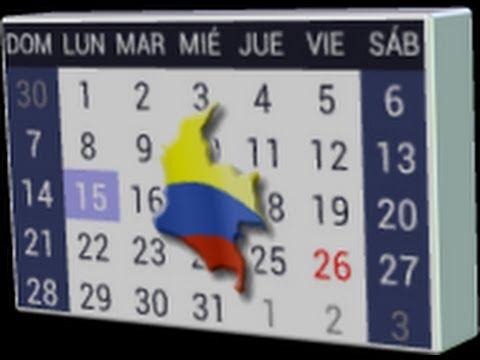 Video of Calendario Festivos Colombia