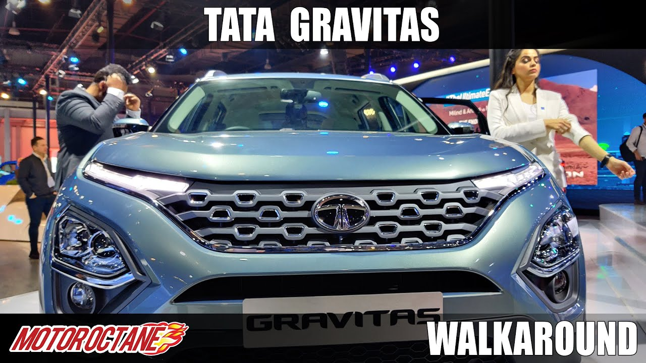 Motoroctane Youtube Video - Tata Gravitas - Hit hai Boss | Auto Expo 2020 | Hindi | Motoroctane