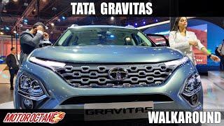 Tata Gravitas - Hit hai Boss   Auto Expo 2020   Hindi   Motoroctane