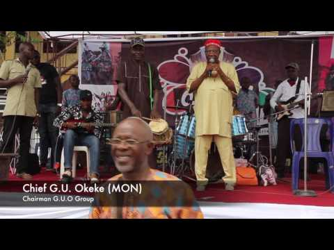 Chief Emeka Morocco Maduka's Performance at Oji - Ofor Festival