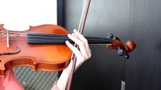 Como hacer vibrato en el Violin