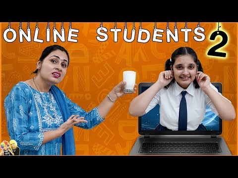 ONLINE STUDENTS Part - 2 | Parents during online classes | Types of Mom | Aayu and Pihu Show