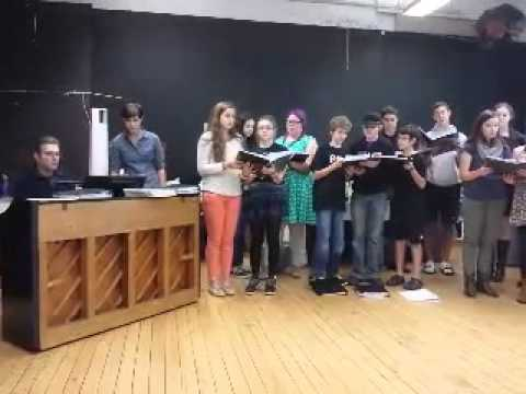 "ETChoir sings arrangement of ""Left and Leaving"" (The Weakerthans) at etc. Music School Open House"