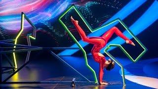 Шоу «Удивительные люди». Оксана Сытова. Развитая мышечная память