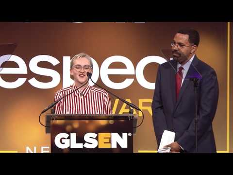 NC Superintendent Ann Clark accepts the GLSEN Educator of the Year Award | Respect Awards