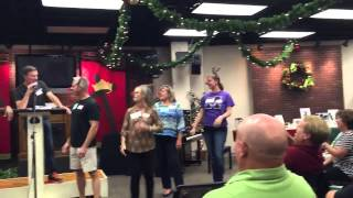 Living Christmas Tree Kickoff 2015