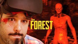 THE FOREST VR - El mejor juego de terror para Realidad Virtual hasta hoy - Oculus rift + Touch