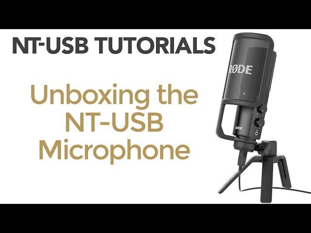 RØDE NT USB Mikrofonpakke Komplett.no