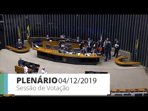Plenário - PL 5815/2019 - Prorroga o prazo para utilização do Recine  - 04/12/19 - 13:00