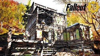 FIGHTING OFF BASE RAIDS & BASE BUILDING IN FALLOUT 76: Base Raiding - Fallout 76  Gameplay