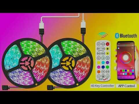 Bluetooth светодиодная RGB лента / Bluetooth RGB LED strip