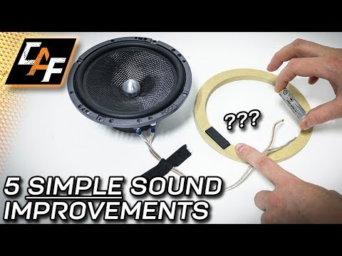 5 CHEAP Sound Improvements you can make NOW – Car Audio