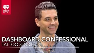 Dashboard Confessional's Chris Carrabba Shows Off His Ink | Tattoo Stories