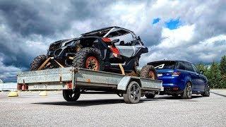 Забрал топовый багги BRP Maverick. Bentley Ultratank едет на МАКС-2019. Первый тюнинг Rapid.