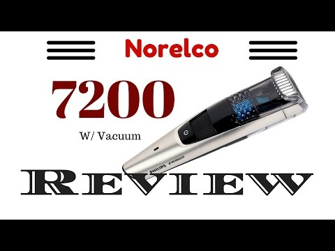 Review: Philips Norelco 7200 Trimmer with vacuum
