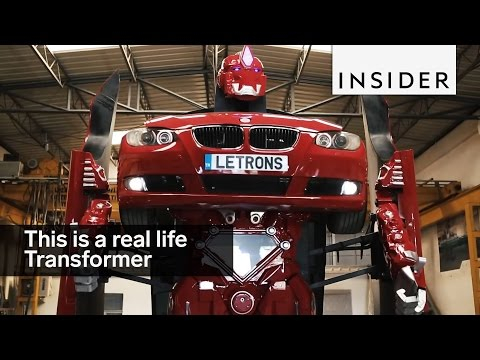 Meet A Real Life Transformer
