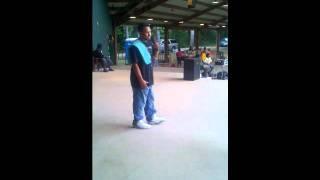 ya boy greedy performing at car show in jackson tn