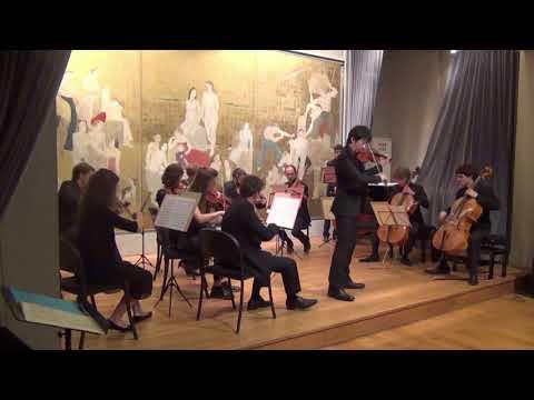 « Concert de clôture du festival » avec l'OCQL <br />Felix Mendelssohn, Concerto pour violon et orchestre à cordes en Ré mineur, 3ème mvt