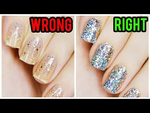 5 Things You're Doing WRONG When Using Glitter Polish!
