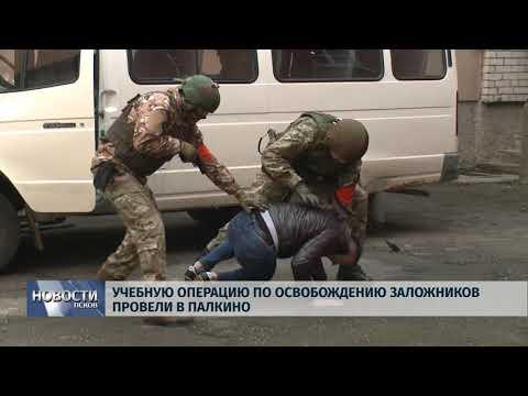 Новости Псков 12.11.2019 / Учебную операцию по освобождению заложников провели в Палкино