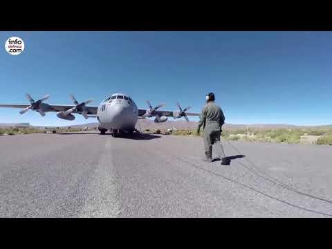 Un C-130 Hercules de la Fuerza Aérea de Chile se extravía con 38 personas a bordo