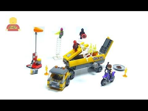 Vidéo LEGO Marvel Super Heroes 76067 : Le démontage du camion-citerne