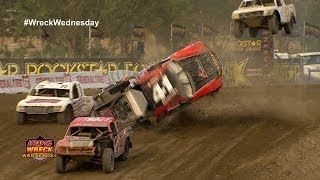 Off Road Driver KYLE HART ROLLS OVER 11Times In Lake Elsinore CA  WW 39