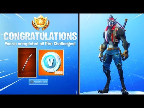 How To Get The Max Dire Skin For Free In Fortnite Battle Royale