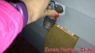 Winterizing - Turn off outside faucets - winterize hose bibs