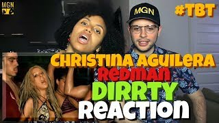 Christina Aguilera - Dirrty (Ft. Redman) | REACTION