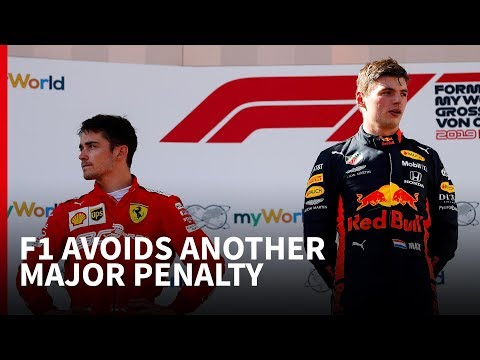 How Verstappen avoided the penalty Vettel got in Canada