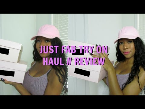 Just Fab Try On Haul 2017 Honest Review