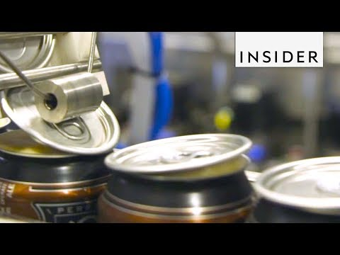How Beers Cans Seal in Their Goodness