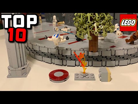 TOP 10 LEGO MOC Techniques I used in my JEDI TEMPLE MOC