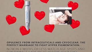 A perfect marriage...Opulence from Intraceuticals and CryoClear