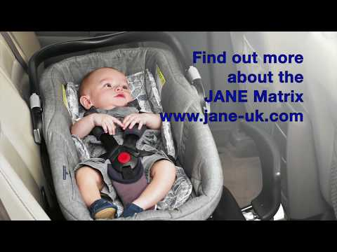 Jane Matrix Light 2, lie-flat car seat & Carrycot