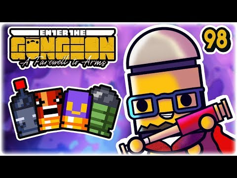 Remote Flak Angry Bouncy Bullets | Part 98 | Let's Play: Enter the Gungeon: Farewell to Arms | PC HD