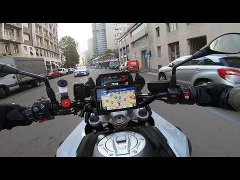 Navigatore BMW Navigator VI: la prova di Andrea Galeazzi sulla F750GS