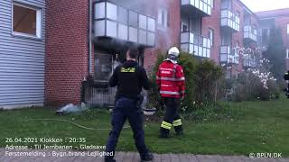26.04.2021 / Bygn.brand-Lejlighed / Gladsaxe