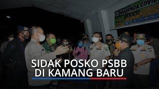 Gubernur Irwan Prayitno Sidak ke Lokasi Posko Pintu Masuk Kamang Baru Sijunjung
