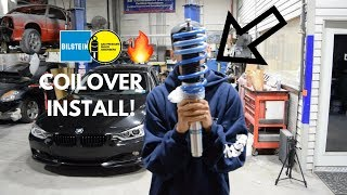 MY BMW GETS COILOVERS!!