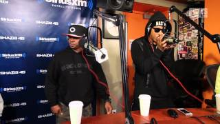 PT. 2 Lantana and Dell Harris Kick Fire Freestyles on Sway in the Morning!