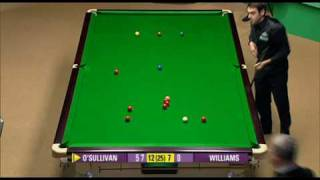 Ronnie O'Sullivan 147 at the 2008 Snooker World Championship