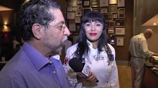 Jantar Show Gilbert Restaurante Folha de Uva