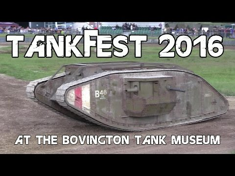 Tankfest 2016 at the Bovington Tank Museum