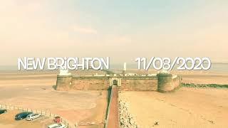 New brighton dji phantom 3 advanced drone first flight