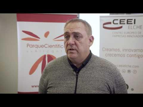 Joaquín Alcázar Director de CEEI Elche en el HUB de Innovación Abierta[;;;][;;;]