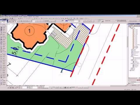 Планировочные ограничения земельного участка (отрывок из 3 этапа обучения)