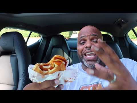Burger King Crispy Buffalo Chicken Melt Food Review