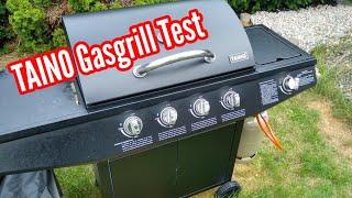TAINO Basic 4+1 Gasgrill im Test Testbericht Erfahrungen TAINO Gasgrill